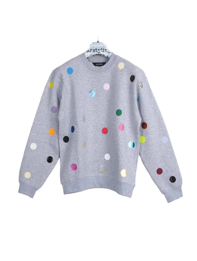 Star Styling Grey Points Sweater