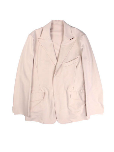 Sulvam Beige Darts Jacket