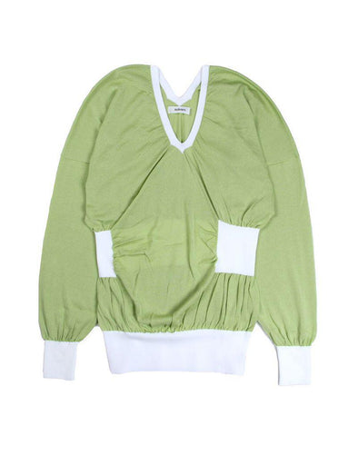 Sulvam Green Knit