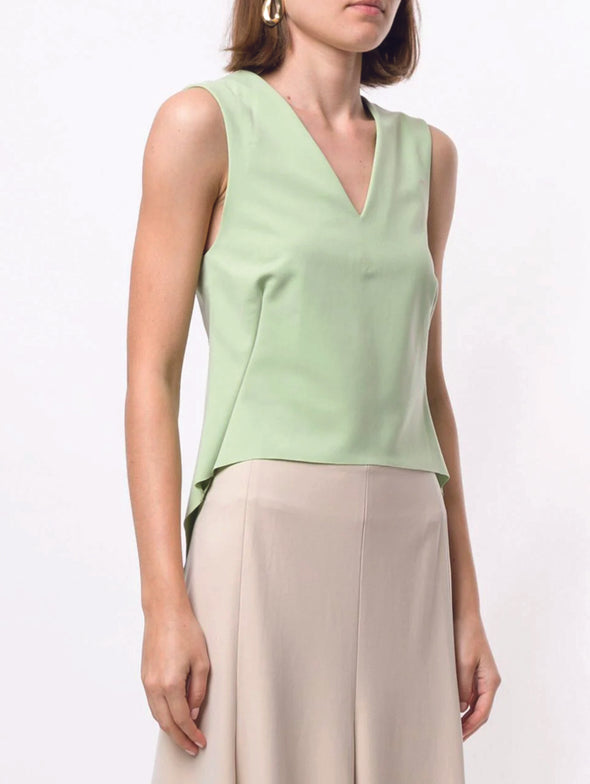 Sulvam Lime Green Tank