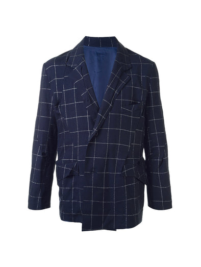 Sulvam Navy Darts Jacket