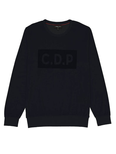 Commune de Paris Navy Velvet Sweat