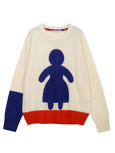 Tsumori Chisato O&O Wool Knit Sweater