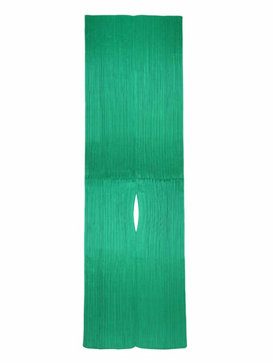 Pleats Please Issey Miyake Green Madame T Stole