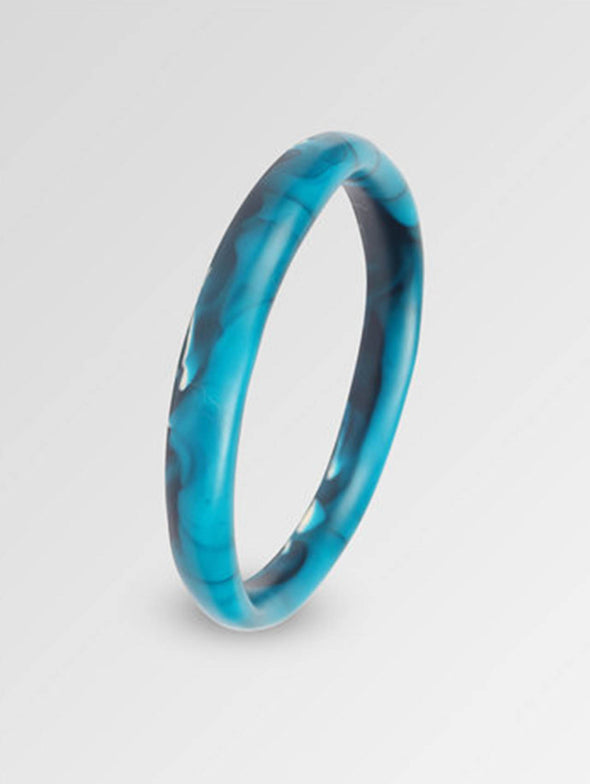 Dinosaur Designs Moody Blue Wishbone Bangle