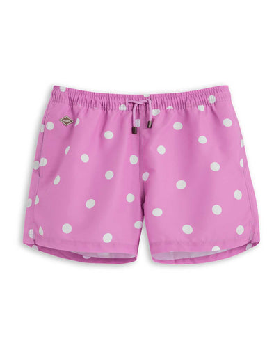 Pink Dot Board Shorts - Nikben