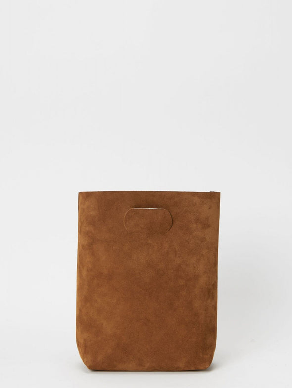 Hender Scheme Tan Suede Not Eco Bag