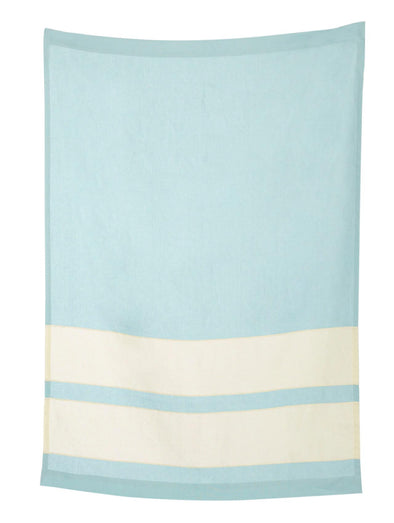 Pale Blue Linen Throw - Todd Heim