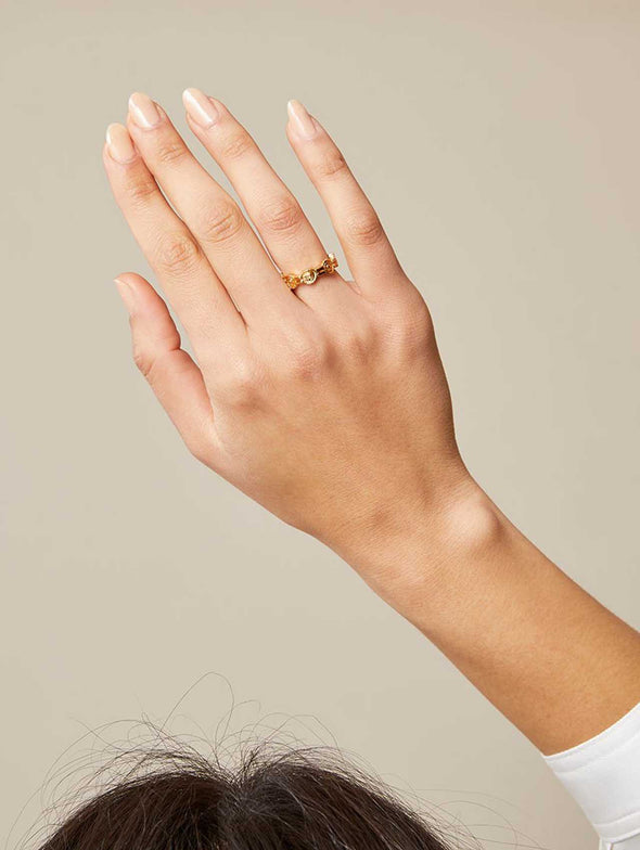 Lucy Folk Solar Halo Ring