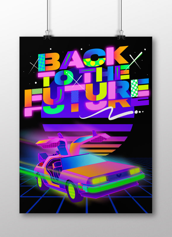 BACK TO THE FUTURE LIMITED PRINT