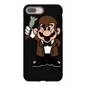 11th doctor mario iphone 8 plus hoesjes