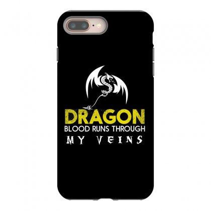 Dragon blood runs through my veins iphone 8 plus hoesjes