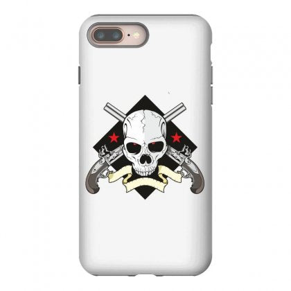Skull iphone 8 plus hoesjes Case