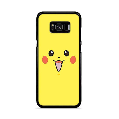 Pikachu Face Samsung Galaxy S8 hoesjes