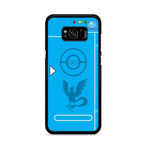 Pokedex Blue Team Mystic 2 Samsung Galaxy S8 hoesjes