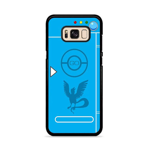 Pokedex Blue Team Mystic 2 Samsung Galaxy S8 Plus hoesjes