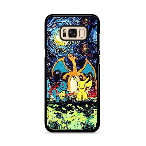 Pokemon Starry Night Samsung Galaxy S8 Plus hoesjes