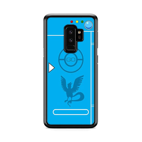 Pokedex Blue Team Mystic 2 Samsung Galaxy S9 Plus hoesjes