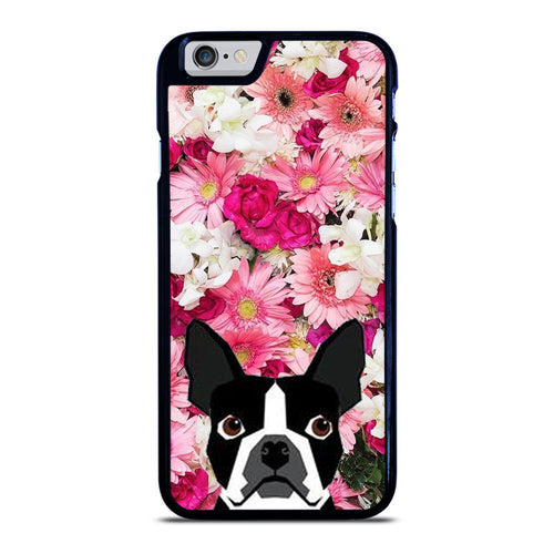 coque custodia cover fundas hoesjes iphone 11 pro max 5 6 7 8 plus x xs xr se2020 C12123 BOSTON TERRIER DOG BREED iPhone 6 / 6S Case