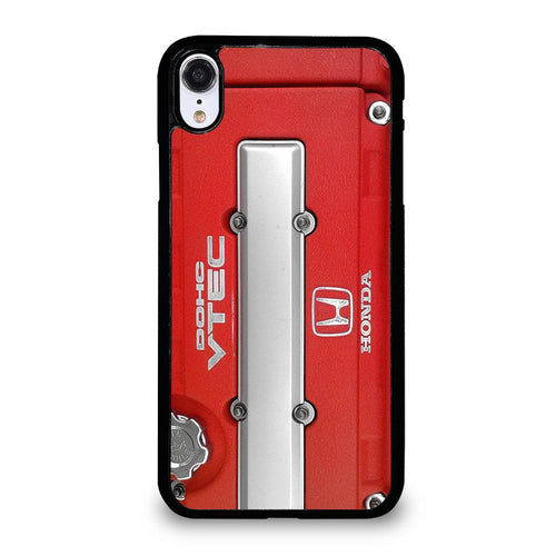coque custodia cover fundas hoesjes iphone 11 pro max 5 6 7 8 plus x xs xr se2020 C21137 HONDA DOHC VTEC ENGINE #2 iPhone XR Case
