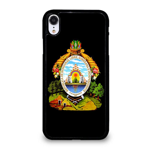 coque custodia cover fundas hoesjes iphone 11 pro max 5 6 7 8 plus x xs xr se2020 C21148 HONDURAS SYMBOL COAT OF ARMS iPhone XR Case