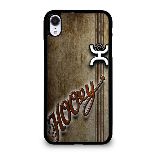 coque custodia cover fundas hoesjes iphone 11 pro max 5 6 7 8 plus x xs xr se2020 C21168 HOOEY LOGO iPhone XR Case