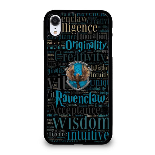 coque custodia cover fundas hoesjes iphone 11 pro max 5 6 7 8 plus x xs xr se2020 C21212 HOUSE RAVENCLAW HARRY POTTER iPhone XR Case