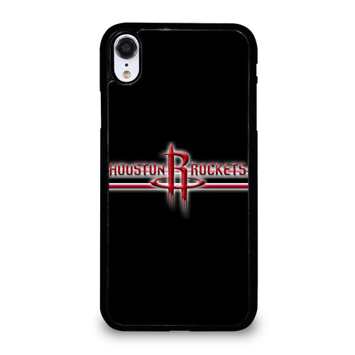 coque custodia cover fundas hoesjes iphone 11 pro max 5 6 7 8 plus x xs xr se2020 C21308 HOUSTON ROCKETS #1 iPhone XR Case