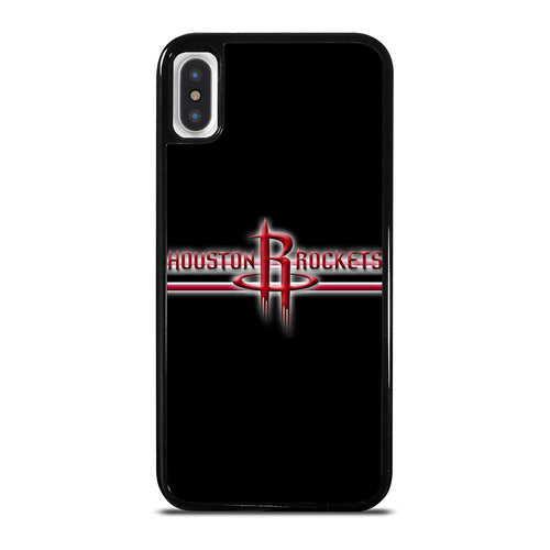 coque custodia cover fundas hoesjes iphone 11 pro max 5 6 7 8 plus x xs xr se2020 C21307 HOUSTON ROCKETS #1 iPhone X / XS Case