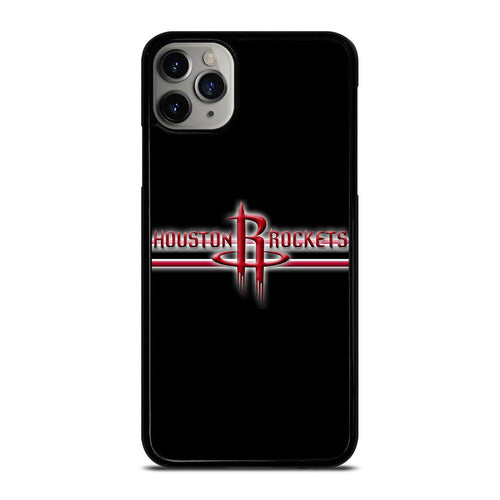 coque custodia cover fundas hoesjes iphone 11 pro max 5 6 7 8 plus x xs xr se2020 C21304 HOUSTON ROCKETS #1 iPhone 11 Pro Max Case