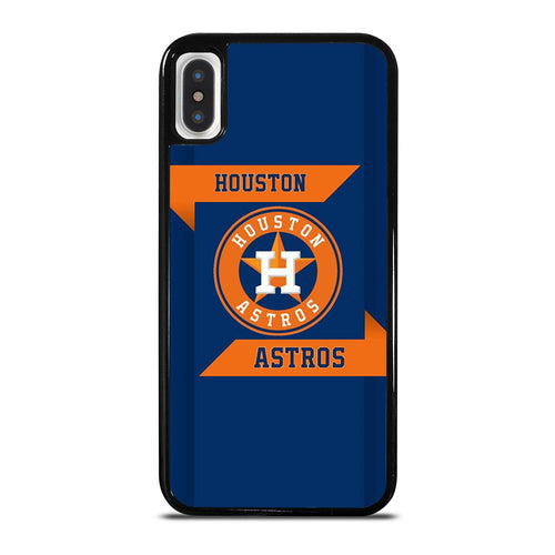 coque custodia cover fundas hoesjes iphone 11 pro max 5 6 7 8 plus x xs xr se2020 C21299 HOUSTON ASTROS MLB iPhone X / XS Case