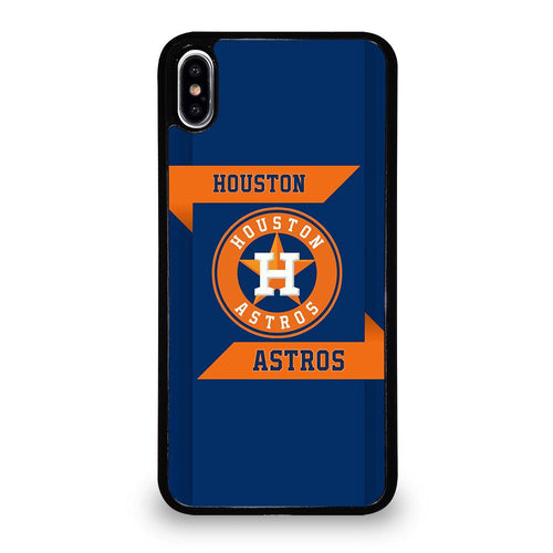 coque custodia cover fundas hoesjes iphone 11 pro max 5 6 7 8 plus x xs xr se2020 C21301 HOUSTON ASTROS MLB iPhone XS Max Case
