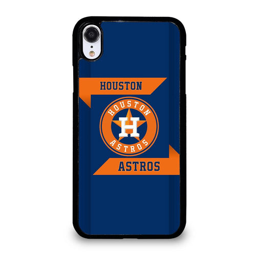coque custodia cover fundas hoesjes iphone 11 pro max 5 6 7 8 plus x xs xr se2020 C21300 HOUSTON ASTROS MLB iPhone XR Case