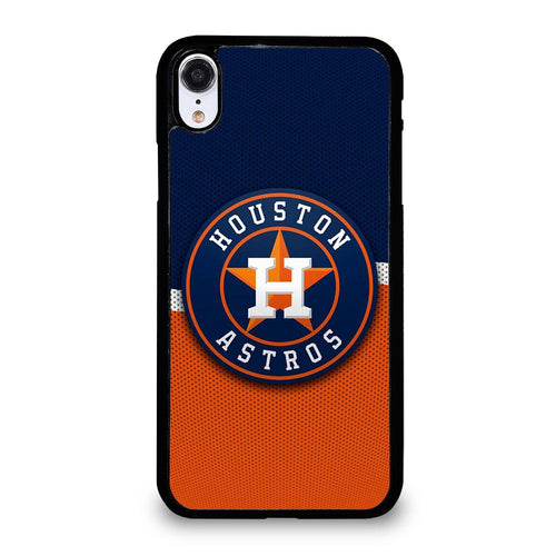 coque custodia cover fundas hoesjes iphone 11 pro max 5 6 7 8 plus x xs xr se2020 C21267 HOUSTON ASTROS MLB ICON 4 iPhone XR Case