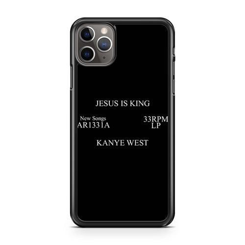 coque custodia cover case fundas hoesjes iphone 11 pro max 5 6 6s 7 8 plus x xs xr se2020 pas cher p10702 Jesus Is King Kanye West Ar1331A 33Rpm Lp Iphone 11 Pro Max Case