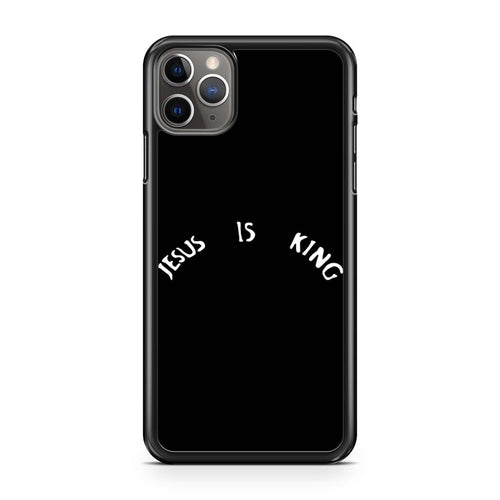 coque custodia cover case fundas hoesjes iphone 11 pro max 5 6 6s 7 8 plus x xs xr se2020 pas cher p10700 Jesus Is King Kanye West Logo Iphone 11 Pro Max Case