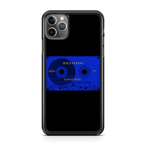 coque custodia cover case fundas hoesjes iphone 11 pro max 5 6 6s 7 8 plus x xs xr se2020 pas cher p10697 Kanye West Jesus Is King Cassette Tape Iphone 11 Pro Max Case