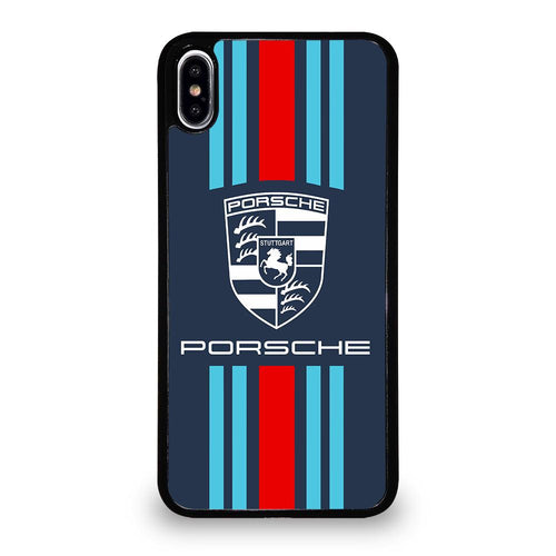coque custodia cover fundas hoesjes iphone 11 pro max 5 6 7 8 plus x xs xr se2020 C28869 PORSCHE LOGO 6 iPhone XS Max Case