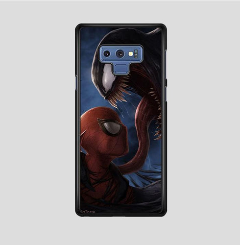 coque custodia cover fundas hoesjes j3 J5 J6 s20 s10 s9 s8 s7 s6 s5 plus edge B35894 spiderman o venom FF0075 Samsung Galaxy Note 9 Case