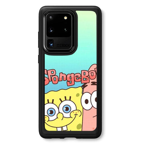 coque custodia cover fundas hoesjes j3 J5 J6 s20 s10 s9 s8 s7 s6 s5 plus edge B36101 Spongebob FF0207 Samsung Galaxy S20 Ultra Case