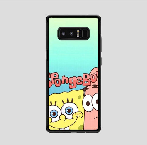 coque custodia cover fundas hoesjes j3 J5 J6 s20 s10 s9 s8 s7 s6 s5 plus edge B36095 Spongebob FF0207 Samsung Galaxy Note 8 Case