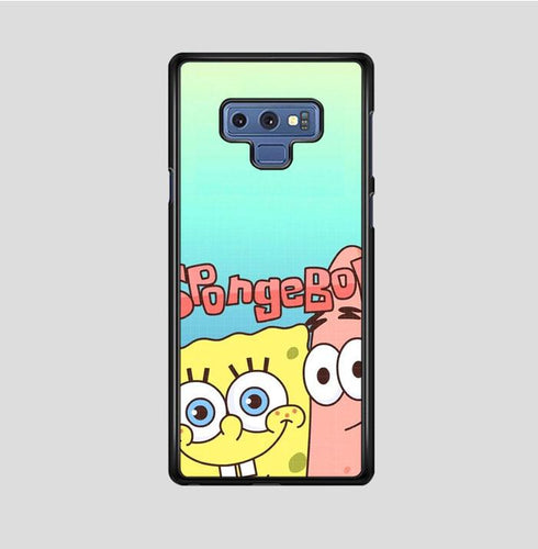 coque custodia cover fundas hoesjes j3 J5 J6 s20 s10 s9 s8 s7 s6 s5 plus edge B36096 Spongebob FF0207 Samsung Galaxy Note 9 Case