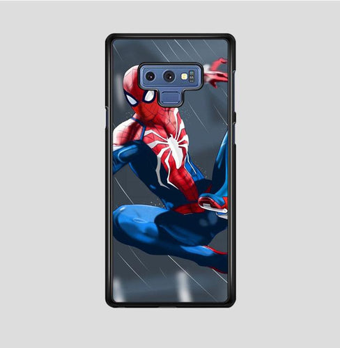 coque custodia cover fundas hoesjes j3 J5 J6 s20 s10 s9 s8 s7 s6 s5 plus edge B35943 SpiderMan Rain FF0279 Samsung Galaxy Note 9 Case