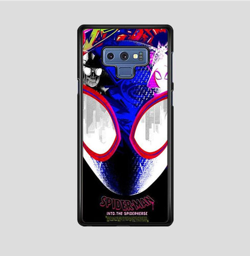 coque custodia cover fundas hoesjes j3 J5 J6 s20 s10 s9 s8 s7 s6 s5 plus edge B36007 Spiderman The Spiderverse FF0463 Samsung Galaxy Note 9 Case