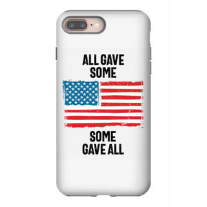 all gave some some gave all memorial day iphone 8 plus hoesjes