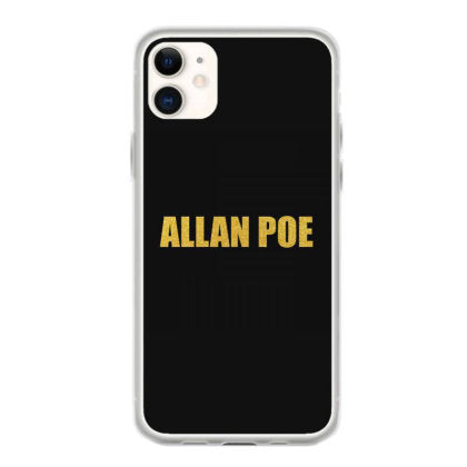 allan poe quality shirt edgar allan poe literary gift english majo iphone 11 hoesjes