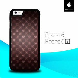 King Mickey Pattern O0725 hoesjes iPhone 6, iPhone 6S