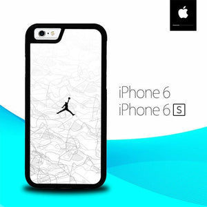 White Air Jordan O0830 hoesjes iPhone 6, iPhone 6S