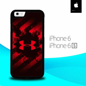 Red Under Armor O0855 hoesjes iPhone 6, iPhone 6S