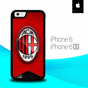 Logo Ac Milan O1205 hoesjes iPhone 6, iPhone 6S